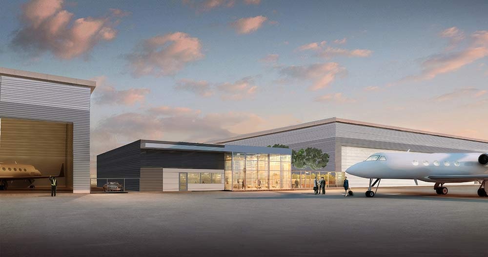 3D Rendering of terminal project.